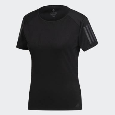 Kadın Koşu Siyah Response Tişört