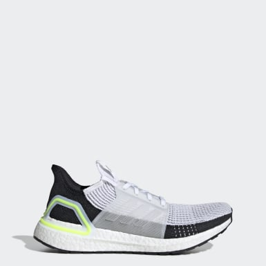 Chaussure Ultraboost 19 blanc Course