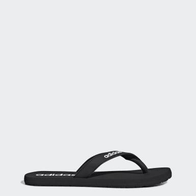 ผู้ชาย ว่ายน้ำ สีดำ รองเท้าแตะ Eezay