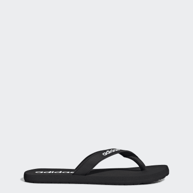 Swimming Black Eezay Flip-Flops