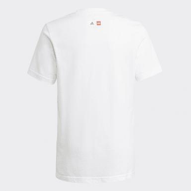 T-shirt adidas x Classic LEGO® Graphic blanc Adolescents Entraînement