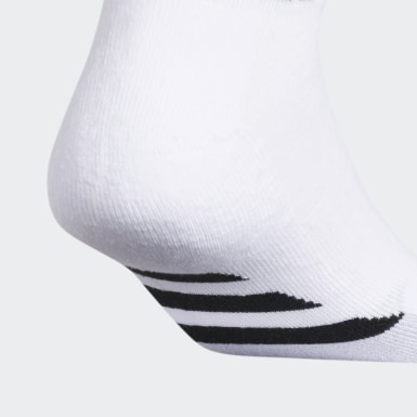 Men's Hiking White Cushioned 2.0 Low-Cut Socks 3 Pairs