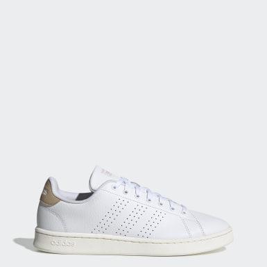 Άνδρες Τένις Λευκό Advantage Shoes
