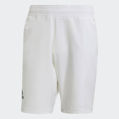 Men Tennis White Tennis Ergo Primeblue 9-Inch Shorts