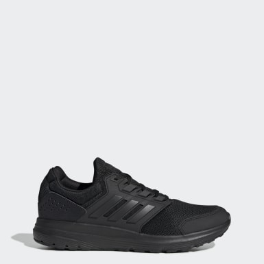 Men Running Black Galaxy 4 Shoes
