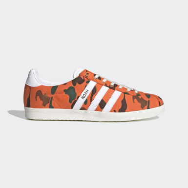 Men Originals Orange Gazelle OG Shoes