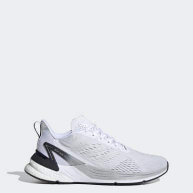 Men's Running White Response Super Shoes