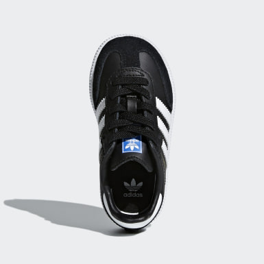 Kinderen Originals Zwart Samba OG Schoenen
