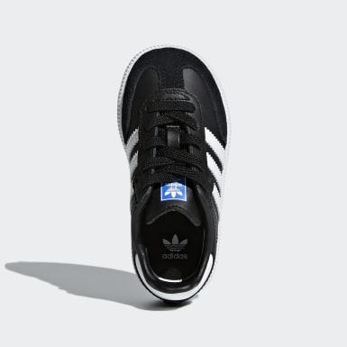 Sapatos Samba OG Preto Criança Originals