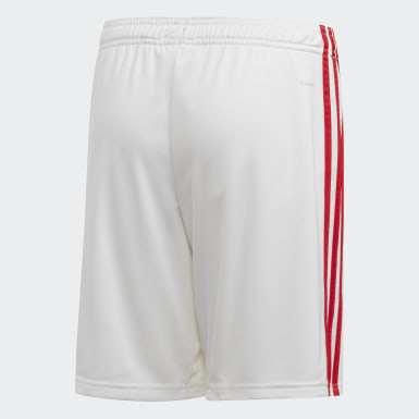 Youth 8-16 Years Football White Arsenal Home Shorts