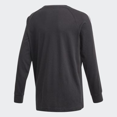 Camiseta 3 Rayas Negro Niño Originals