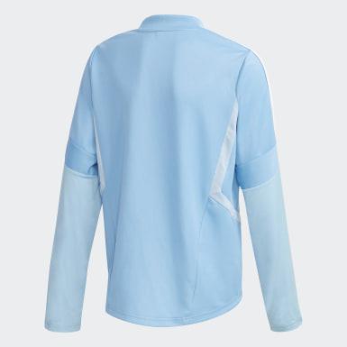 Kinderen Voetbal Blauw Tiro 19 Training Sweater