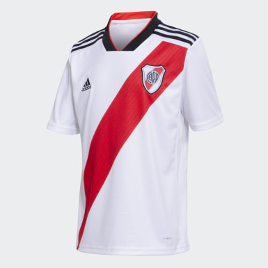 Camiseta Titular de Local Club Atlético River Plate Niño