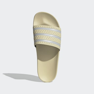 Men's Originals Yellow Adilette Slides