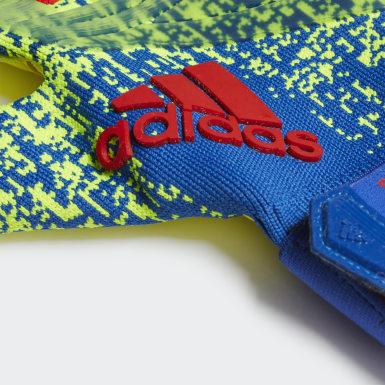 Men Football Yellow Predator Pro Gloves