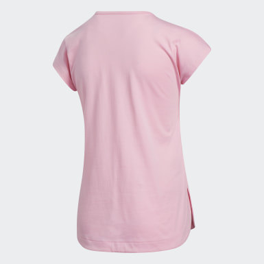 Youth Training Pink Slit Tee