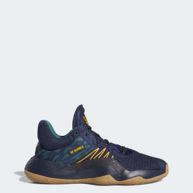 Heren Basketbal Blauw D.O.N. Issue #1 Schoenen