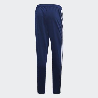Heren Training Blauw Tiro 19 Polyester Broek