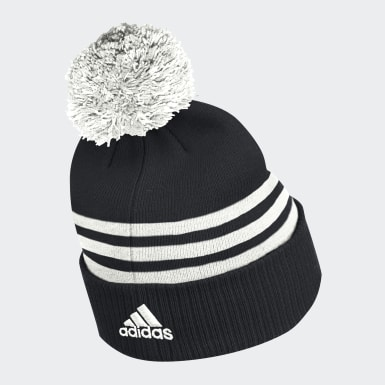 Men Hockey Multicolor Senators 3-Stripes Cuffed Pompom Beanie