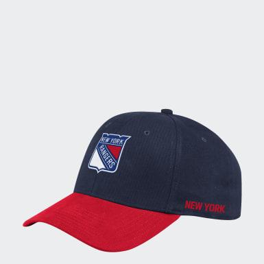 Men's Hockey Multicolor Rangers Coach Structured Flex Hat