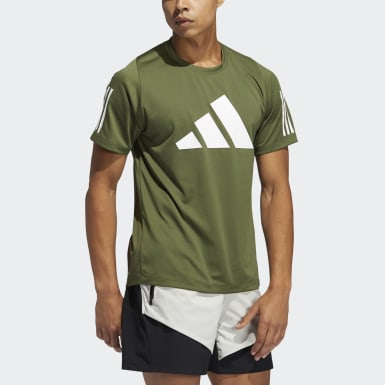 Men Cross Training Green FreeLift T-Shirt