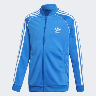 Track Jacket SST Blu Bambini Originals