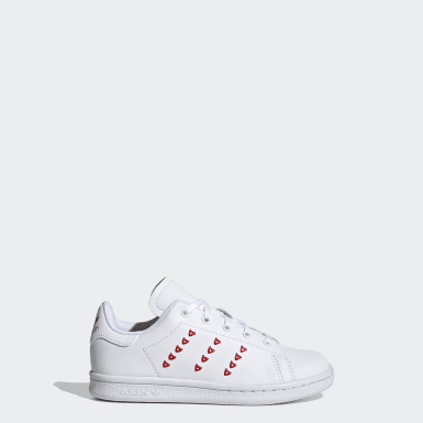 Tênis Stan Smith Branco Kids Originals