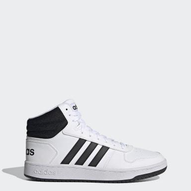 Basketball Hoops Mid 2.0 Schuh Weiß