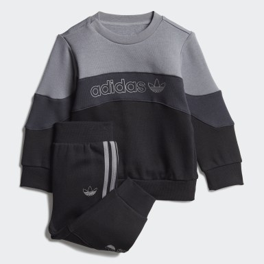 Infants Originals Grey BX-20 Crew Set