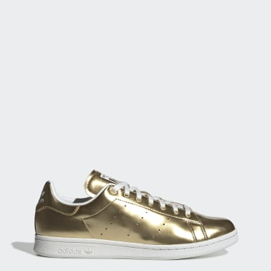 Dames Originals Goud Stan Smith Schoenen