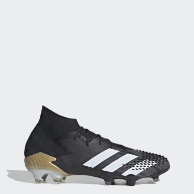 Bota de fútbol Predator Mutator 20.1 césped natural seco Negro Fútbol