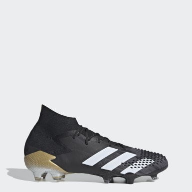 Men's Soccer Black Predator Mutator 20.1 Firm Ground Cleats