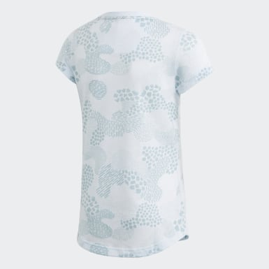 Remera Must Haves Estampada Azul Niña Training