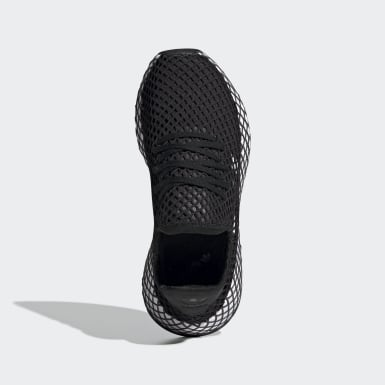 Youth Originals Black Deerupt Runner Shoes