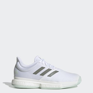 Men's Tennis White SoleCourt Shoes
