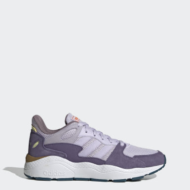 Women Running Purple Crazychaos Shoes