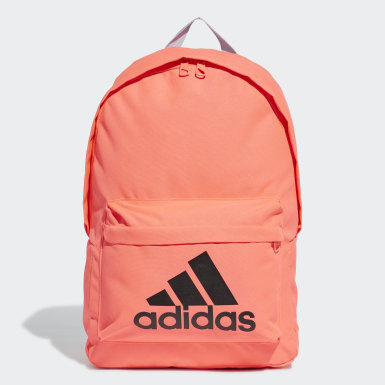Lifestyle Pink Classic Big Logo Backpack