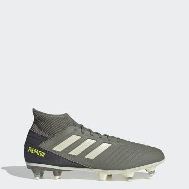 Bota de fútbol Predator 19.3 césped natural húmedo Verde Fútbol