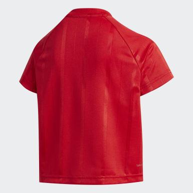 Playera Rojo Niña Training