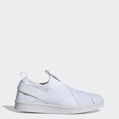 Zapatillas Superstar Slip On Blanco Mujer Originals