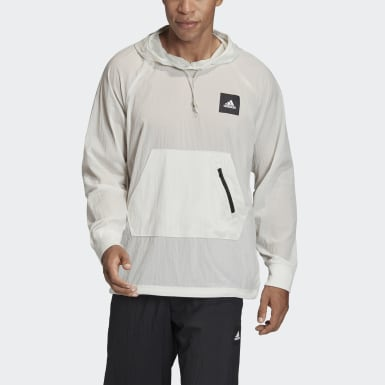 Men's Athletics Grey Must Haves Woven Sweatshirt