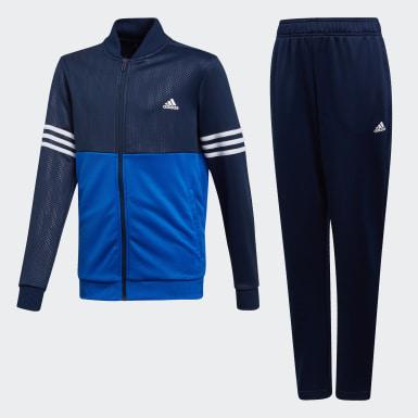 Jongens Training Blauw Trainingspak