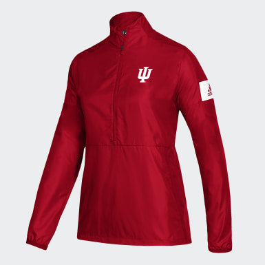 Women's Athletics Multicolor Hoosiers Game Mode Jacket
