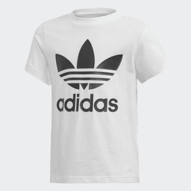 Børn Originals Sort Trefoil Shorts and T-shirt sæt