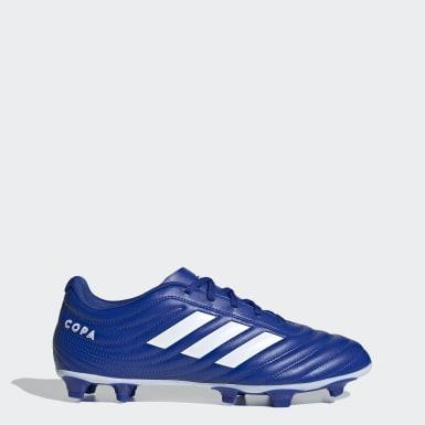 Chaussure Copa 20.4 Terrain souple bleu Soccer