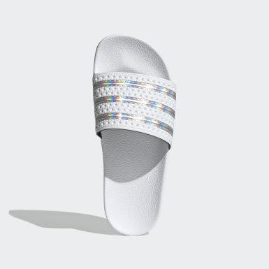 Kvinder Originals Hvid Adilette sandaler