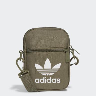 Originals Green Trefoil Festival Bag