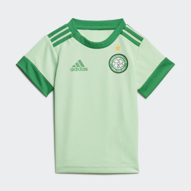 Børn Fodbold Grøn Celtic FC 20/21 Baby udebanedragt
