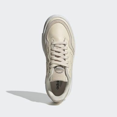 Børn Originals Beige Supercourt sko