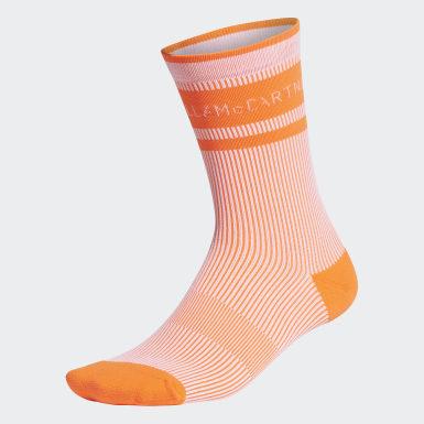 Frauen adidas by Stella McCartney adidas by Stella McCartney Crew Socken Weiß